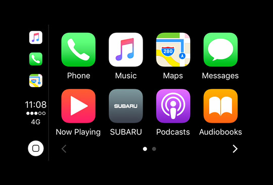 <sg-lang1>Apple CarPlay<sup>*2</sup> and Android Auto<sup>*3</sup></sg-lang1><sg-lang2></sg-lang2><sg-lang3></sg-lang3>